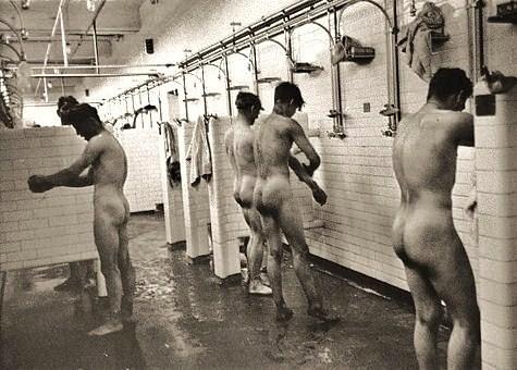 nude men locker room