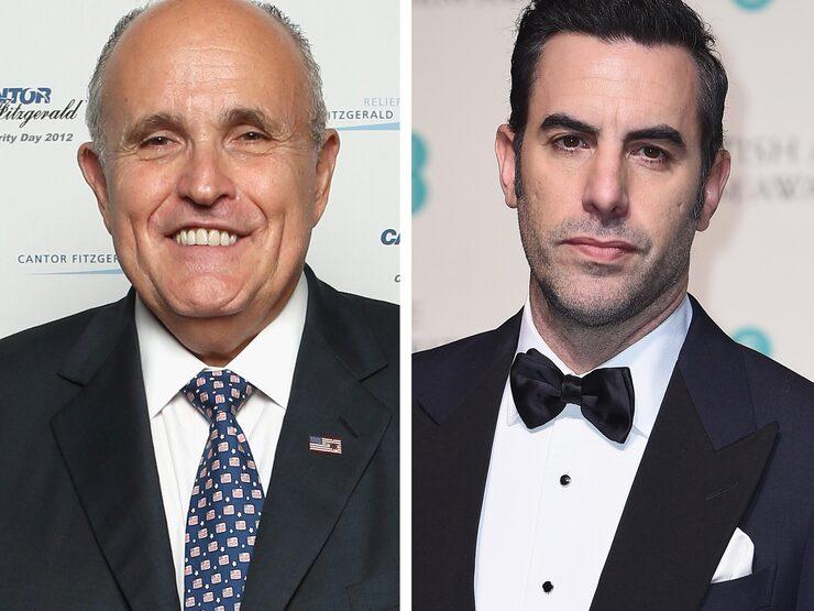Sacha Baron Cohen's too Rudy bikini prank backfires