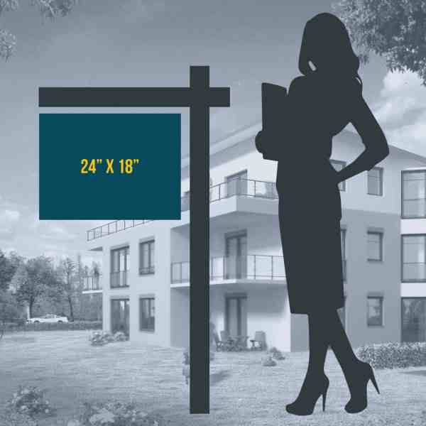24 x 18 Property Listing Sign