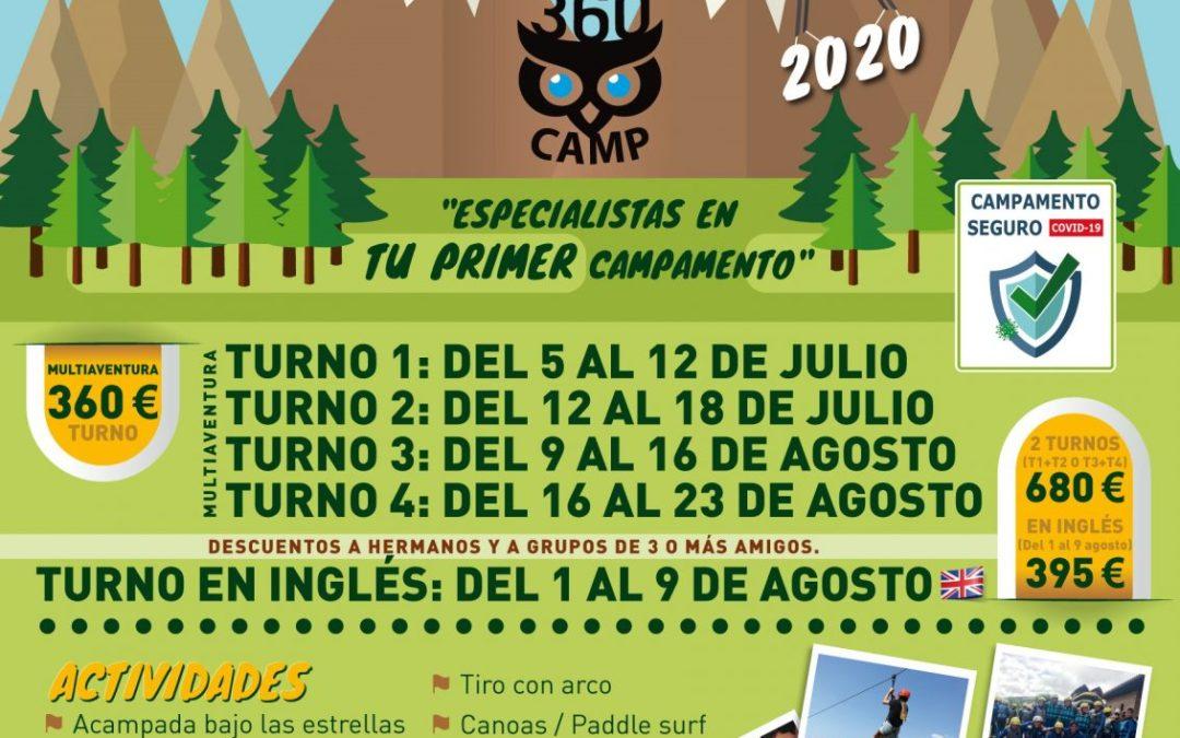 Los Campamentos Multiaventura son una realidad