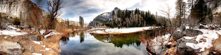 Yosemite River by Lee Casalena