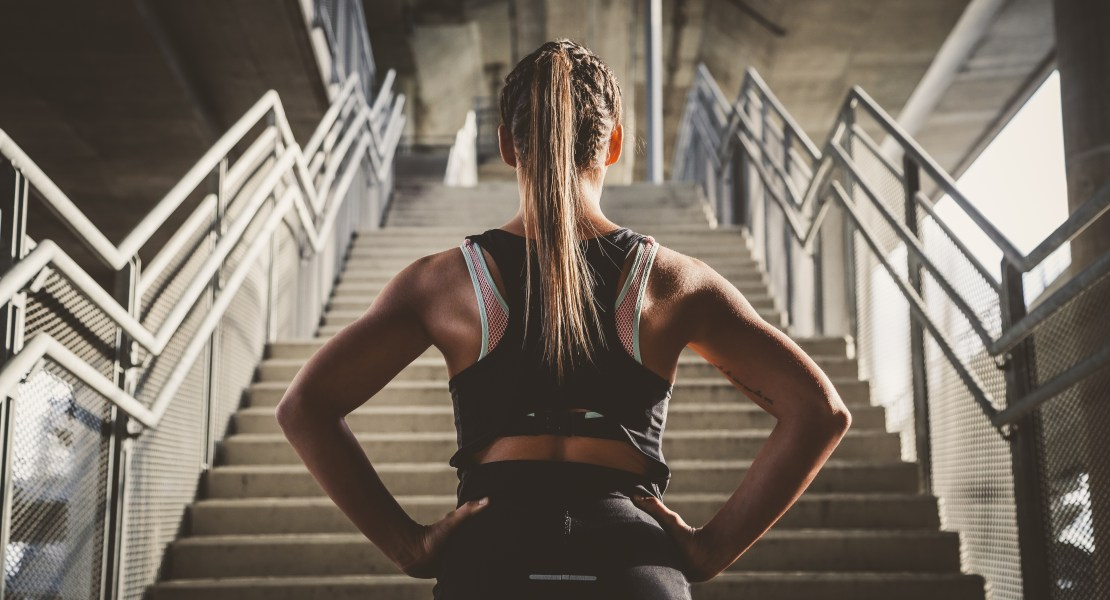 Stair-workout-thinking