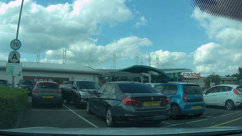 イギリス,高速道路,サービスエリア