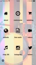 360drums app main menu