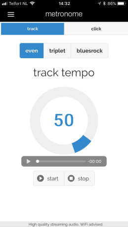 360drums app track metronome