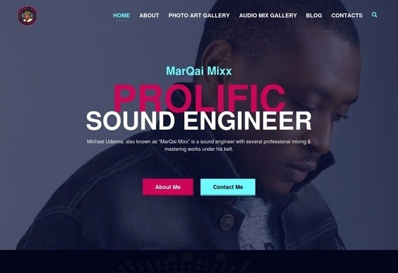 MarQai-Website-Design Recent Projects