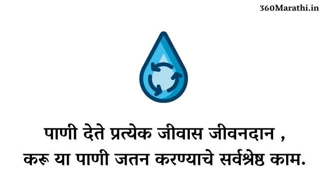 save water images in marathi