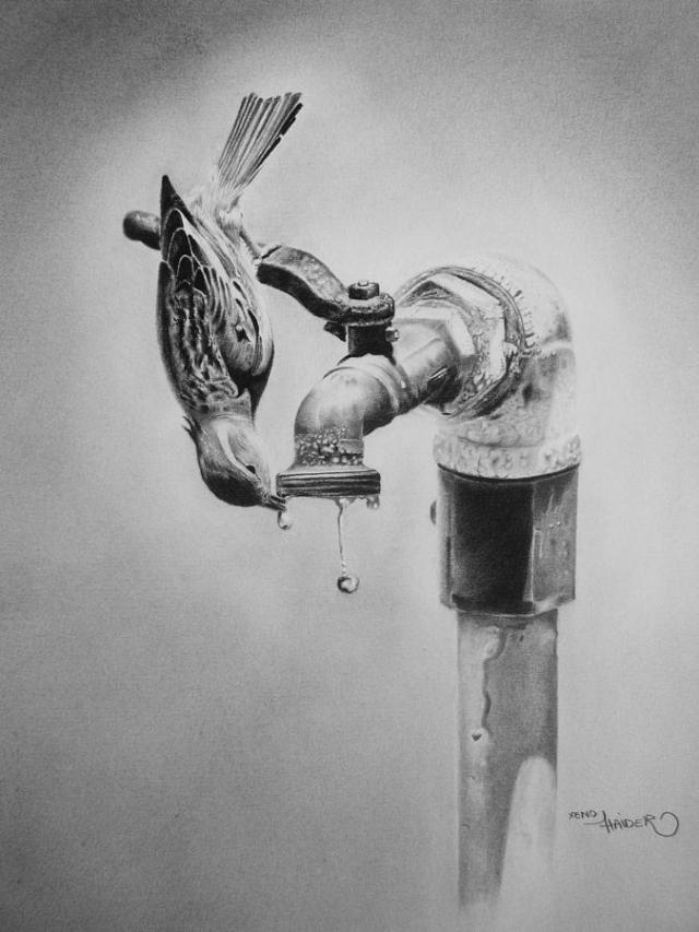 Save water drawings for competition 5 -