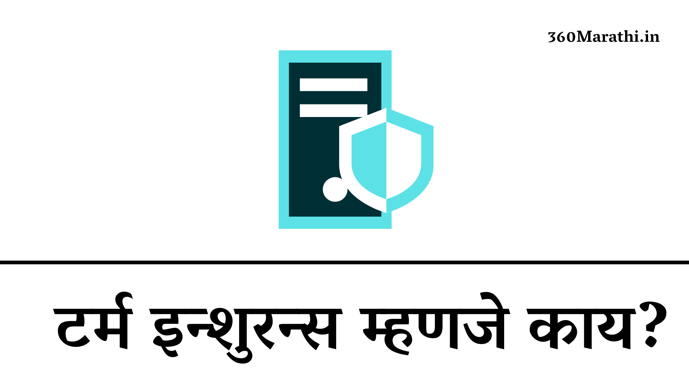 (संपूर्ण माहिती) टर्म इन्शुरन्स म्हणजे काय? | Term Insurance in Marathi | Term Insurance Investment Information In Marathi
