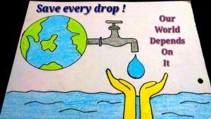 save water drawing 2 1 -