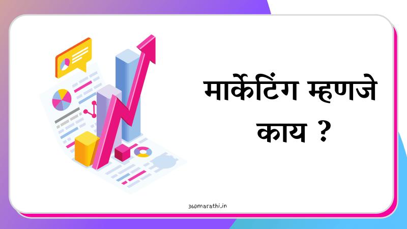 मार्केटिंग म्हणजे काय | विपणन म्हणजे काय | What is Marketing in Marathi