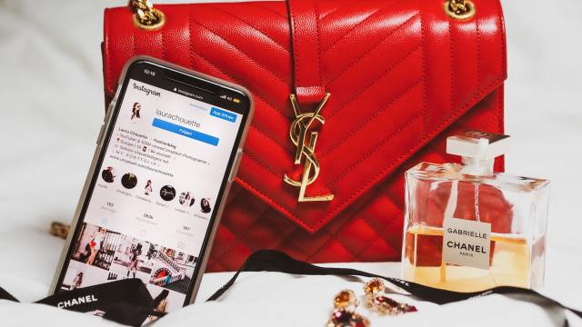 branded products and instagram shop account open