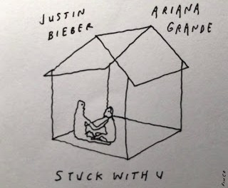 Download Justin Bieber & Ariana Grande Stuck with you Mp3 Download
