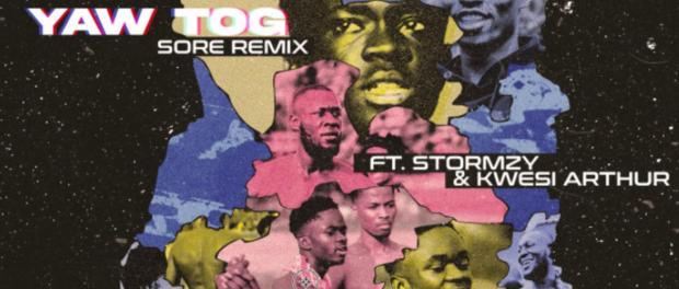 Download Yaw Tog Ft Stormzy Kwesi Arthur Sore Remix Mp3 Download