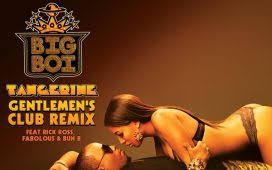 Download Big Boi Tangerine ft Rick Ross Fabolous and Bun B MP3 Download