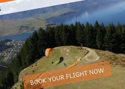 GFORCE Paragliding Web, Video & 360 Degree Video