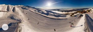 Cardrona aerial 360 panorama