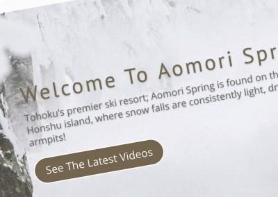 Aomori Spring Web Design & Imagery
