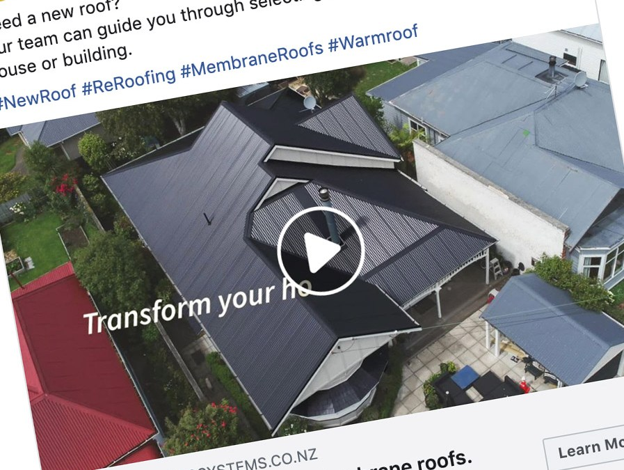 Dunedin Roofing Systems Social Ad Campaign