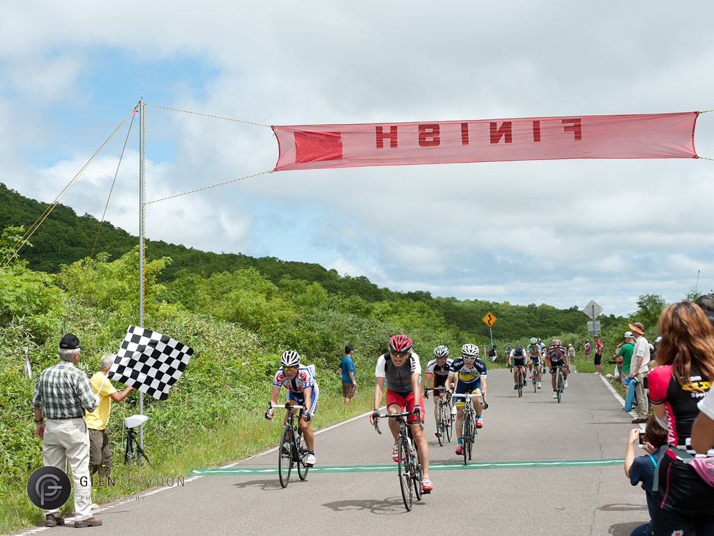 A great finish, 4 August 2013