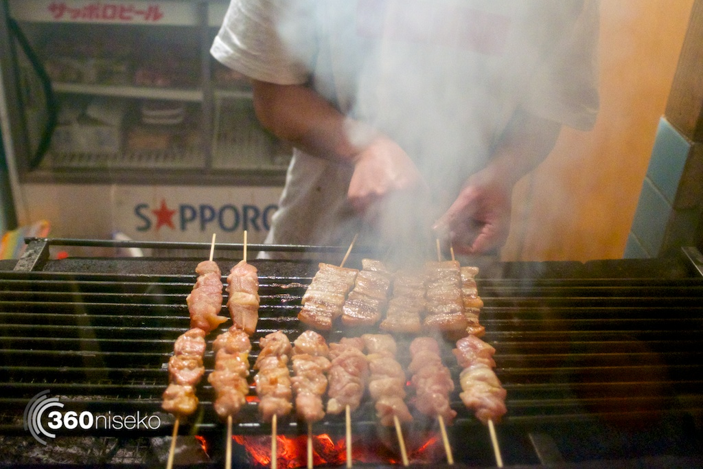 Yakitori on the Charcoal Grill