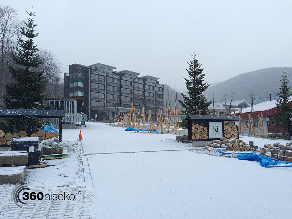 Ki Niseko almost ready for opeing, 2 December 2014