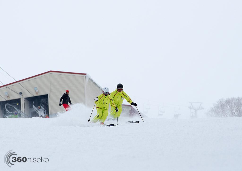 Annupuri Skiers on Utopia, 1 March 2015