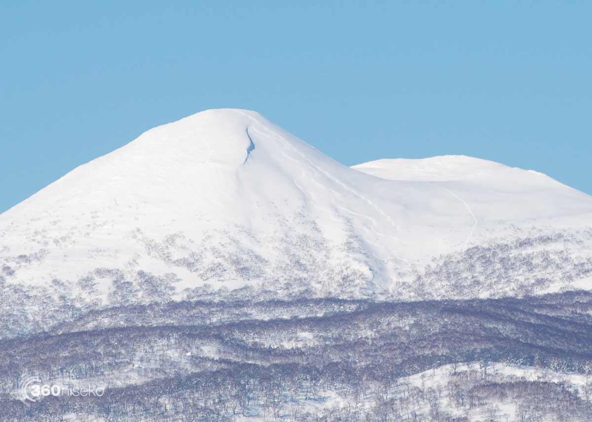 Fresh lines on Shakunage, 8 February 2016