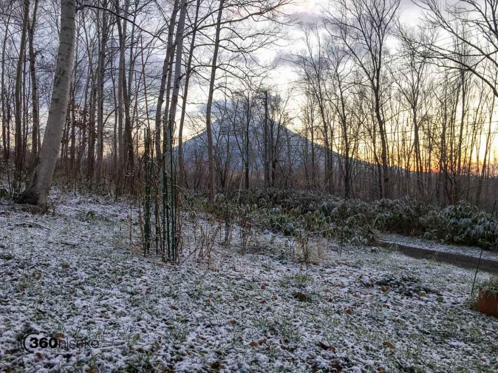 Hello Mt.Yotei, 15 November 2017