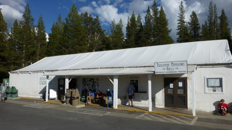 The grill, Post Office and general store in Tuolumne