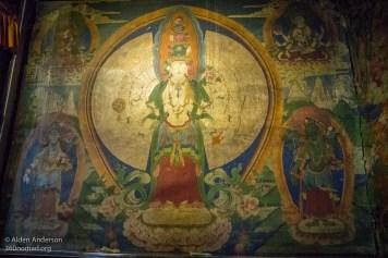 Feilai Monastery Tibetan mural_02