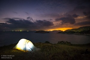Camping on Po Toi island (Hong Kong — A City of Contrasts)