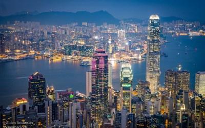 Victoria Peak Hike — The Classic View of HongKong
