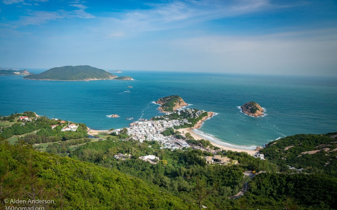 Shek O from Dragon's Back