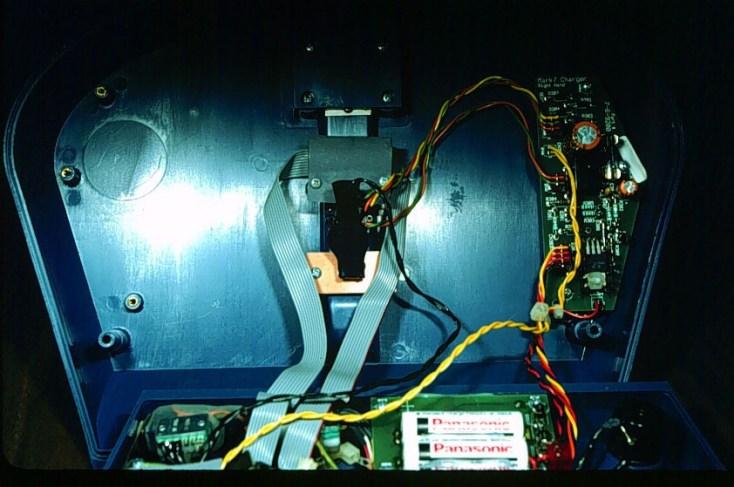 Inside the emeter - Back