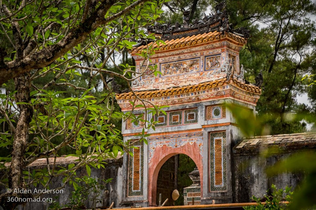 Entrance gate to Tu Duc Tomb