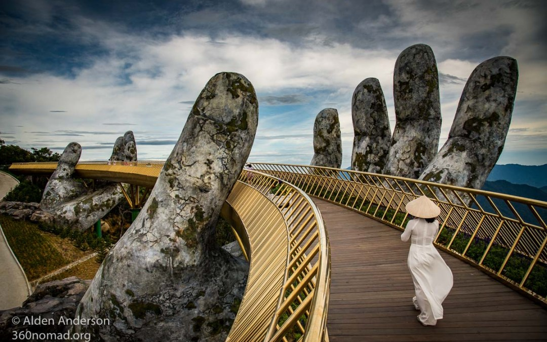 Vietnam's Golden Bridge — The Hands of God