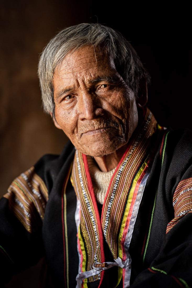 Vietnam Portrait Ngat Jrai ethnic group