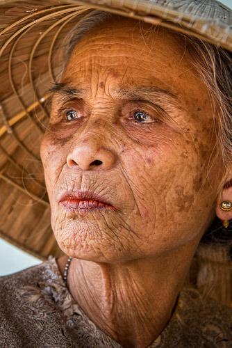 Man, Surviving the Vietnam - American War Hoi An