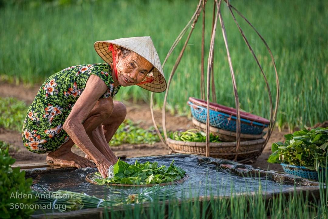Nhi, Tra Que Vegetable Village