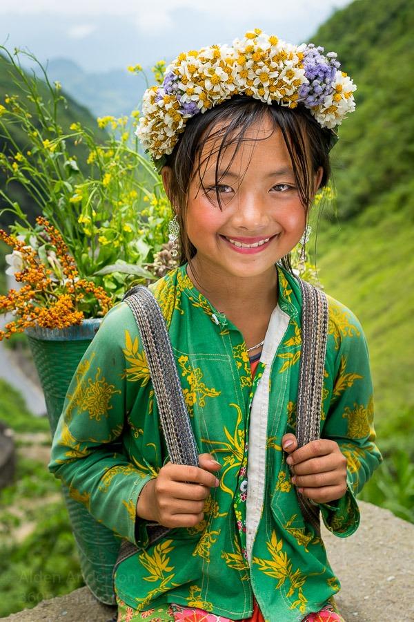 Hmong Girl Ha Giang Vietnam