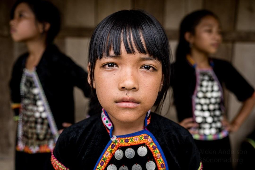 Si La Ethnic Group Kids, Vietnam