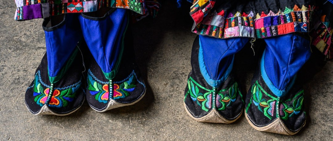 Pu Peo Ethnic Group shoes