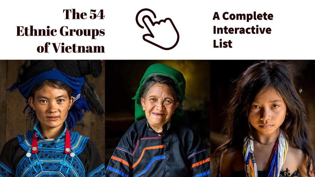 54 Ethnic Groups Vietnam List