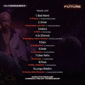 ALBUM: DJ Consequence - Vibes From The Future Ep, ALBUM: DJ Consequence –  Vibes From The Future Ep, 360okay