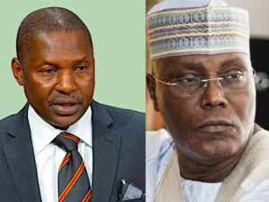 , Atiku Abubakar Not A Nigerian By Birth, Not Qualified To Run For President – Malami, 360okay
