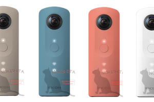 RUMOR: This is what the new Ricoh Theta SC looks like