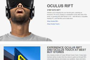 You can now get a demo of the Oculus Touch with the Oculus Rift