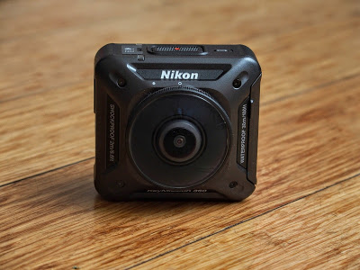 The Nikon Keymission 360 is one of the recently-released 360 cameras