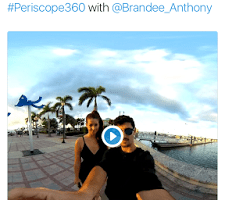 Twitter and Periscope add 360 video livestreaming for select accounts